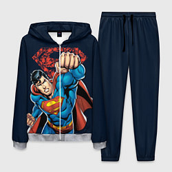 Костюм мужской Superman цвета 3D-меланж — фото 1