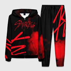 Костюм мужской Stray Kids цвета 3D-черный — фото 1