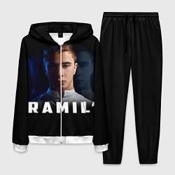 Костюм мужской Ramil' цвета 3D-белый — фото 1