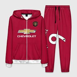 Костюм мужской Martial Manchester United 2020 цвета 3D-белый — фото 1