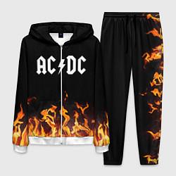 Костюм мужской AC DC цвета 3D-белый — фото 1