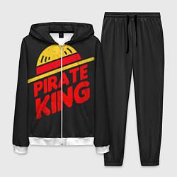 Костюм мужской One Piece Pirate King цвета 3D-белый — фото 1