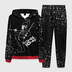 Костюм мужской My Chemical Romance цвета 3D-красный — фото 1