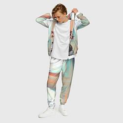 Костюм мужской Джерард Уэйн цвета 3D-белый — фото 2