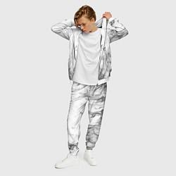 Костюм мужской LINEAGE 2 цвета 3D-белый — фото 2