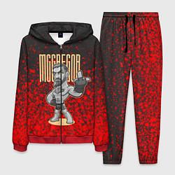 Костюм мужской Conor McGregor цвета 3D-красный — фото 1