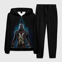 Костюм мужской Assassin's Creed цвета 3D-черный — фото 1