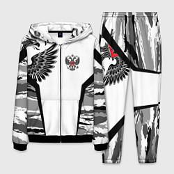 Костюм мужской Камуфляж Россия цвета 3D-черный — фото 1