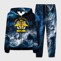 Костюм мужской Военно-морской флот цвета 3D-черный — фото 1