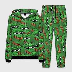 Костюм мужской Pepe The Frog цвета 3D-черный — фото 1