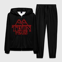 Костюм мужской Twin Peaks цвета 3D-черный — фото 1