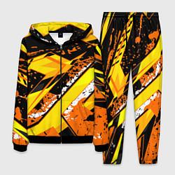 Костюм мужской Bona Fide Одежда для фитнеcа цвета 3D-черный — фото 1