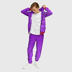 Костюм мужской Bona Fide Одежда для фитнеcа цвета 3D-красный — фото 2