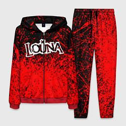 Костюм мужской Louna цвета 3D-красный — фото 1