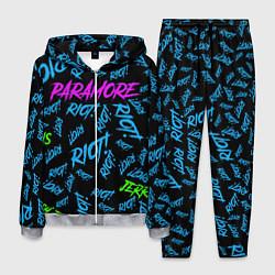 Костюм мужской Paramore RIOT! цвета 3D-меланж — фото 1
