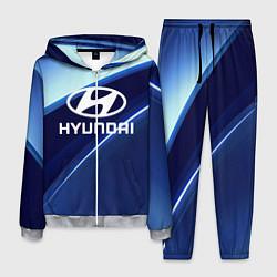 Костюм мужской HYUNDAI цвета 3D-меланж — фото 1