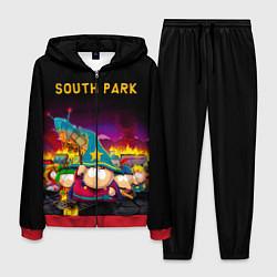 Костюм мужской Южный Парк цвета 3D-красный — фото 1
