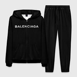 Костюм мужской BALENCIAGA цвета 3D-черный — фото 1