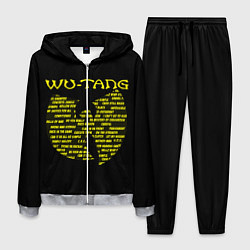 Костюм мужской WU-TANG CLAN цвета 3D-меланж — фото 1