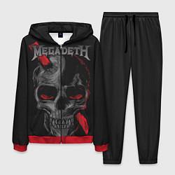 Костюм мужской Megadeth цвета 3D-красный — фото 1