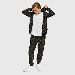 Костюм мужской Versace Леопарды и цепи цвета 3D-черный — фото 2