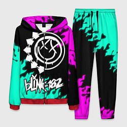 Костюм мужской Blink-182 5 цвета 3D-красный — фото 1