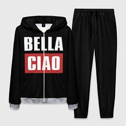 Костюм мужской Bella Ciao цвета 3D-меланж — фото 1