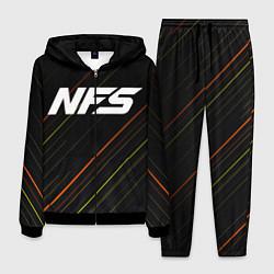 Костюм мужской NFS цвета 3D-черный — фото 1