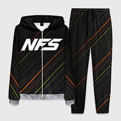 Костюм мужской NFS цвета 3D-меланж — фото 1