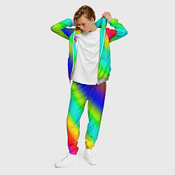 Костюм мужской 6IX9INE цвета 3D-меланж — фото 2