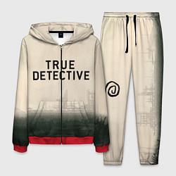 Костюм мужской Настоящий детектив цвета 3D-красный — фото 1