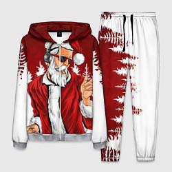 Костюм мужской Music Santa цвета 3D-меланж — фото 1