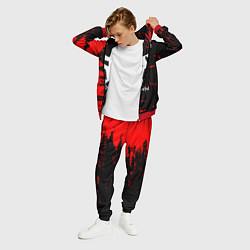 Костюм мужской Shinedown цвета 3D-красный — фото 2