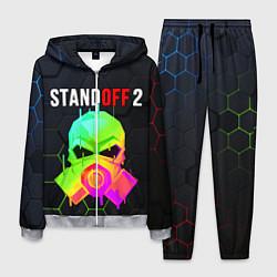 Костюм мужской STANDOFF 2 Z9 MASK COLOR цвета 3D-меланж — фото 1