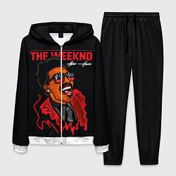 Костюм мужской The Weeknd - After Hours цвета 3D-белый — фото 1