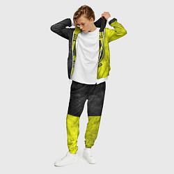 Костюм мужской Borussia Dortmund цвета 3D-белый — фото 2