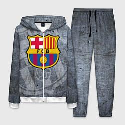 Костюм мужской Barcelona цвета 3D-белый — фото 1