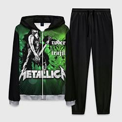 Костюм мужской Metallica: Robert Trujillo цвета 3D-меланж — фото 1