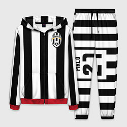 Костюм мужской Juventus: Pirlo цвета 3D-красный — фото 1