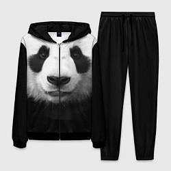 Костюм мужской Взгляд панды цвета 3D-черный — фото 1