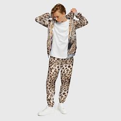 Костюм мужской Взгляд леопарда цвета 3D-меланж — фото 2