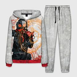 Костюм мужской Counter-Strike: SWAT цвета 3D-красный — фото 1