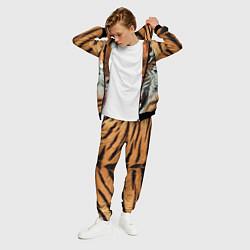 Костюм мужской Взгляд тигра цвета 3D-черный — фото 2