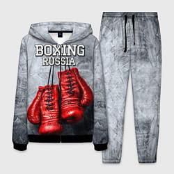Костюм мужской Boxing Russia цвета 3D-черный — фото 1