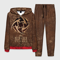 Костюм мужской Ninjas In Pyjamas цвета 3D-красный — фото 1