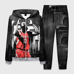 Костюм мужской Баскетболист NBA цвета 3D-меланж — фото 1