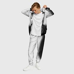 Костюм мужской Бенедикт Камбербэтч цвета 3D-черный — фото 2