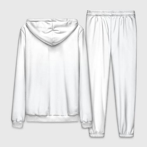 Мужской костюм Группа Пикник / 3D-Белый – фото 2