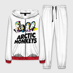 Костюм мужской Arctic Monkeys: Music Wave цвета 3D-красный — фото 1