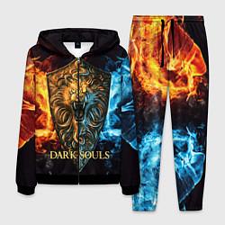 Костюм мужской Dark Souls: Lion Shield цвета 3D-черный — фото 1